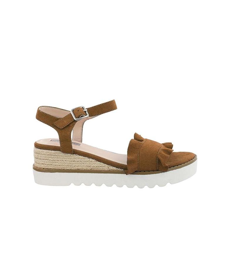 01 Sandalias Altura Sandalias Aitana cuña cuero Chika10 6cm Chika10 01 Aitana 1BqY5wg1