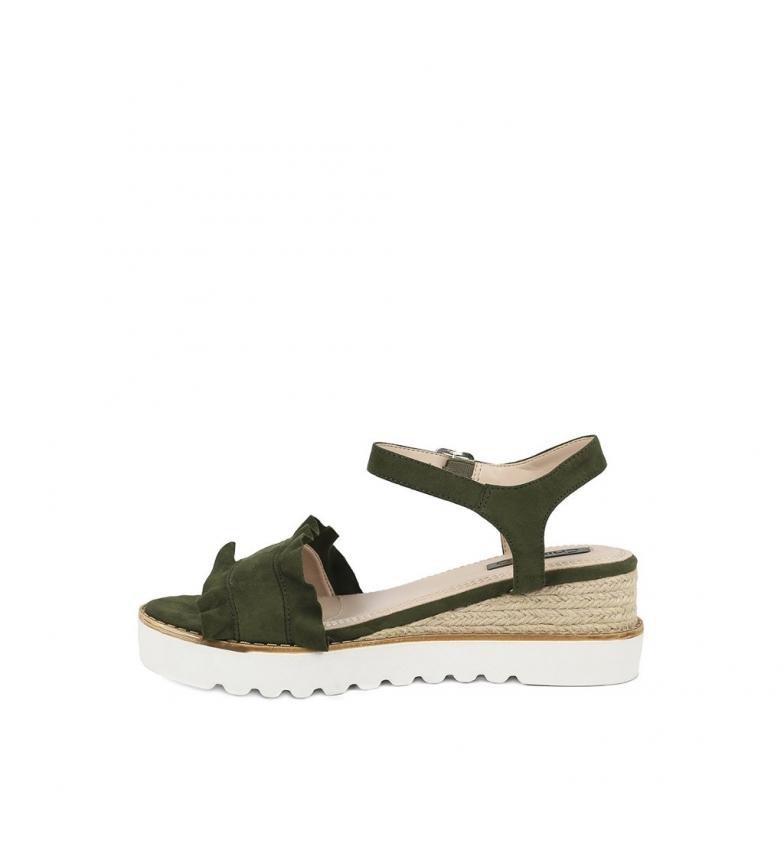 Altura Aitana cuña kaki Chika10 01 Sandalias Sandalias 6cm Chika10 ZxCwYqv