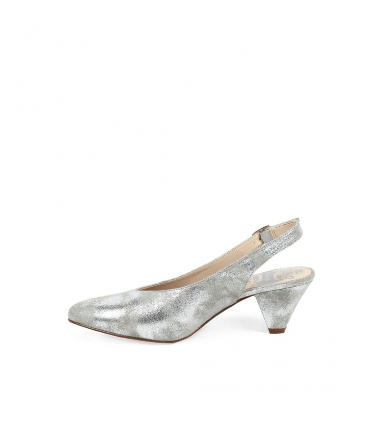 Chika10 Zapatos Lauper 01 Plata Metall utløps bilder nyte billig pris 100% opprinnelige mange typer aaa kvalitet t207JF