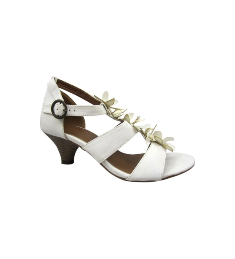 Chika10 Zapatos Madan blanco Altura tacón: 5,5cm