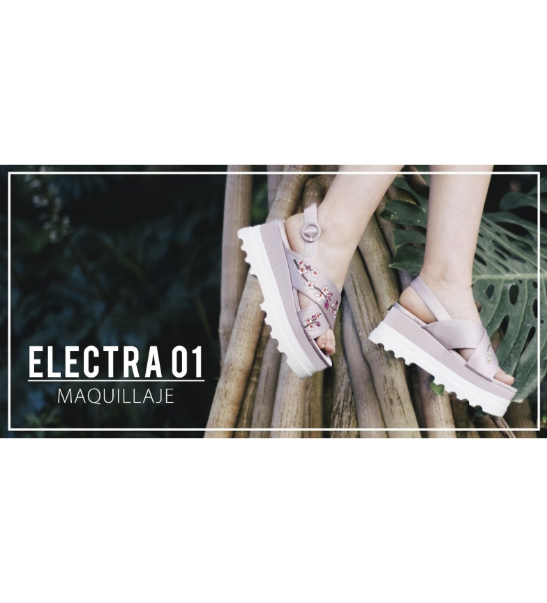 Chika10 Electra 01 Sandalias rosa Chika10 Sandalias 5ZTqt0x