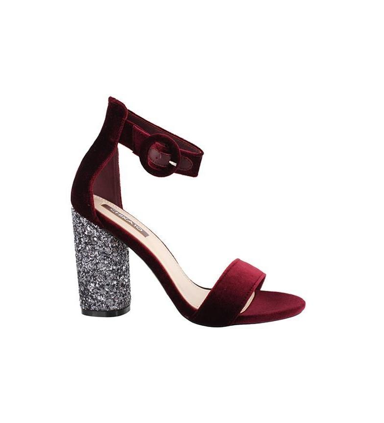 Comprar Chika10 Sandals Emma 01 wine -Heel heel: 10cm-