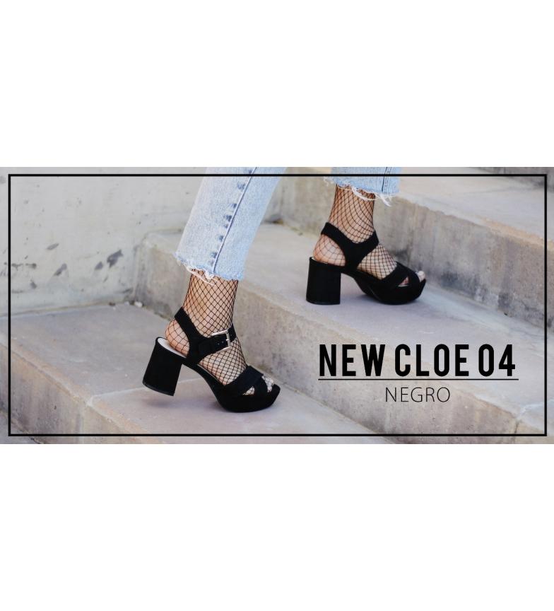 Cloe New 04 Sandalias negro Chika10 OqwCx