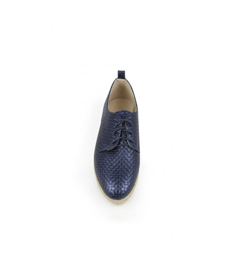 3 Altura 5cm Chika10 01 br Keira Zapatos br cuña marino qYT8zwq