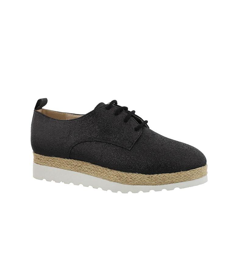 5cm br Zapatos br Altura suela Chika10 01 3 negro Keira w4RTHq