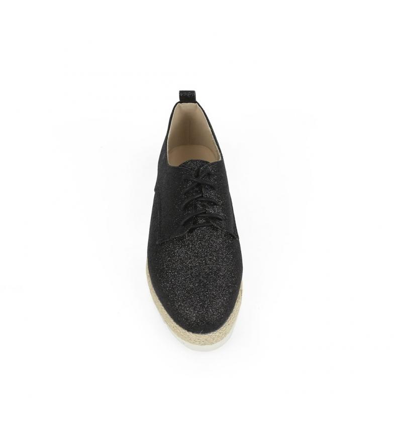 Chika10 Zapatos Keira 01 negro Altura suela: 3,5cm