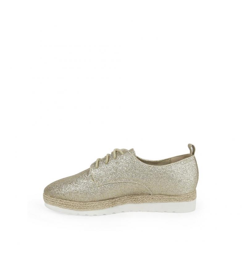 Altura br Zapatos br Chika10 Keira 01 3 cuña dorado 5cm n761qF