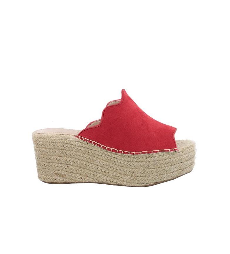 Sandalias Valeria Valeria Chika10 rojo Sandalias 05 rojo Chika10 Chika10 05 w4x7a