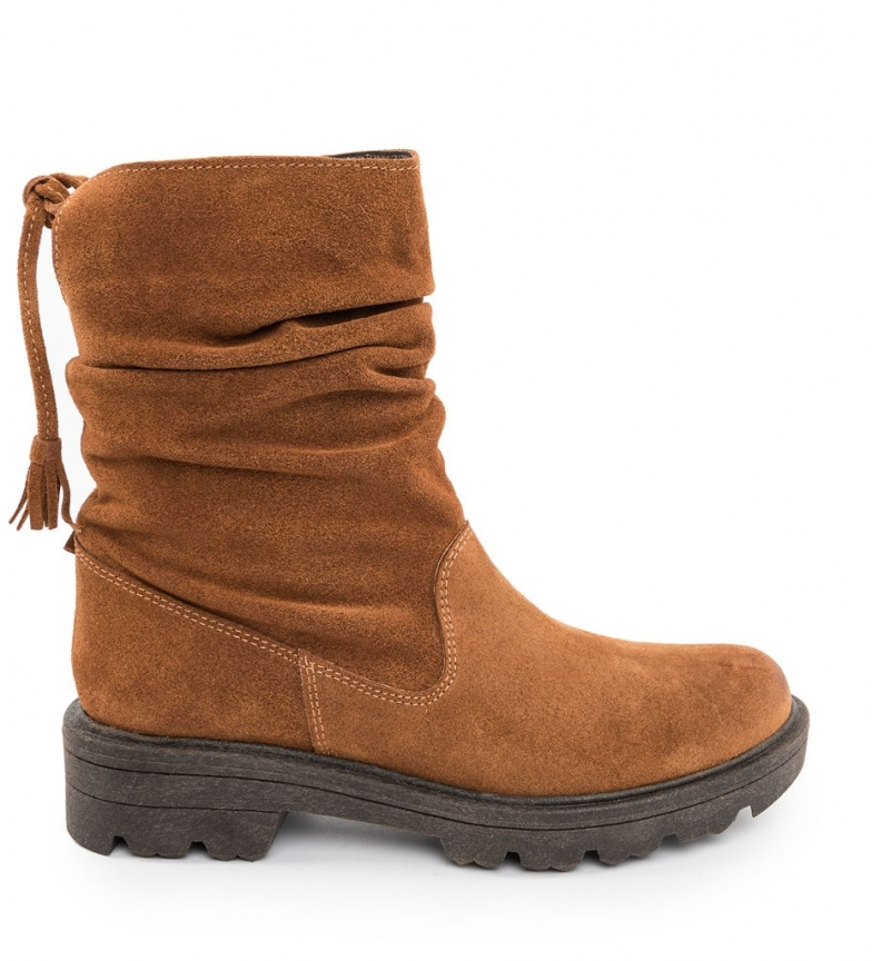 Comprar Chika10 America 04 brown leather boots