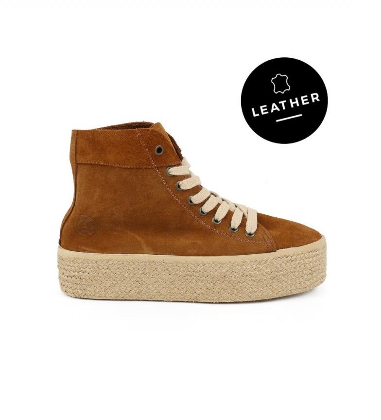 Comprar Chika10 Puka 10 leather high shoes -High platform: 4,5cm