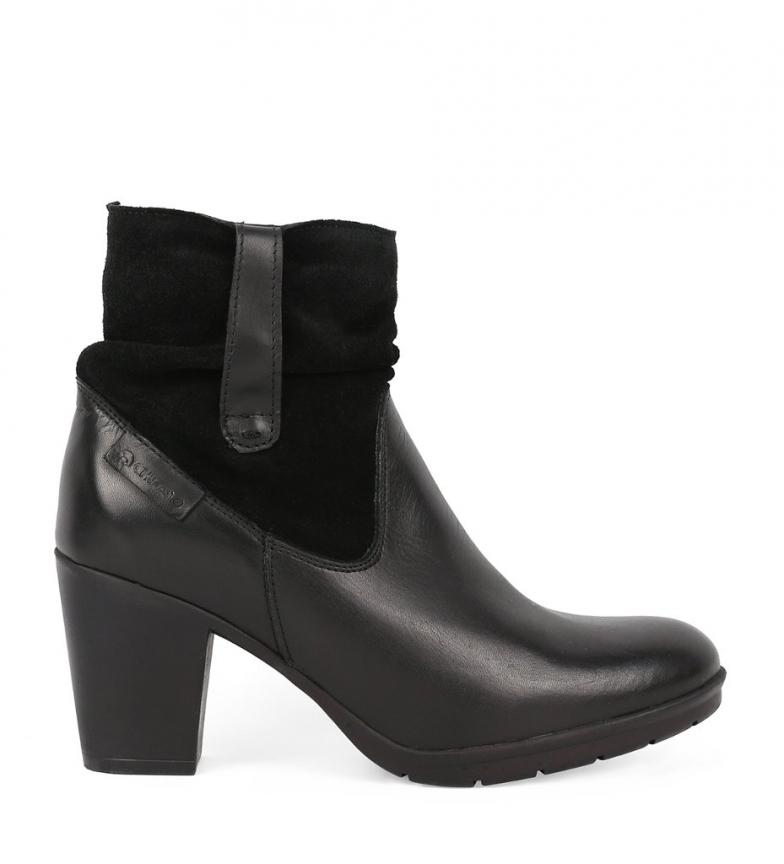Comprar Chika10 Stivali in pelle Margot 08 nero - altezza tacco: 7cm-