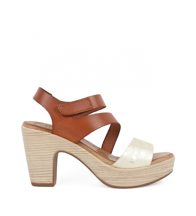 Comprar Chika10 Leather sandals Softy 02 leather -heel height: 9 cm