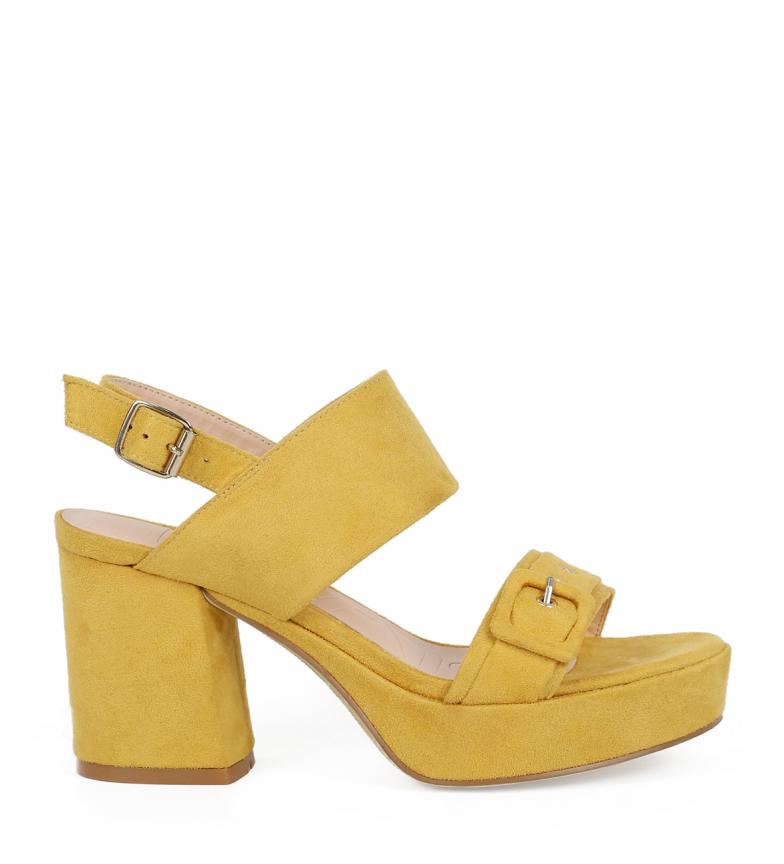 Comprar Chika10 Sandals Frida 04 mustard -High heel: 9cm