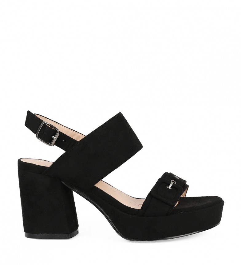 Comprar Chika10 Sandals Frida 04 black -Heel height: 9cm