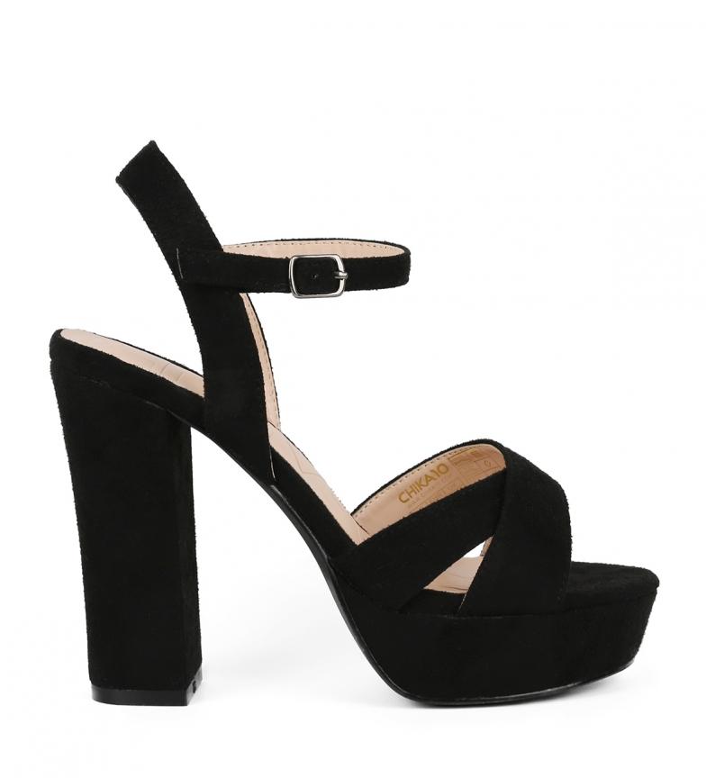 Comprar Chika10 Sandalias Saturday 01 negro -Altura tacón: 11cm-