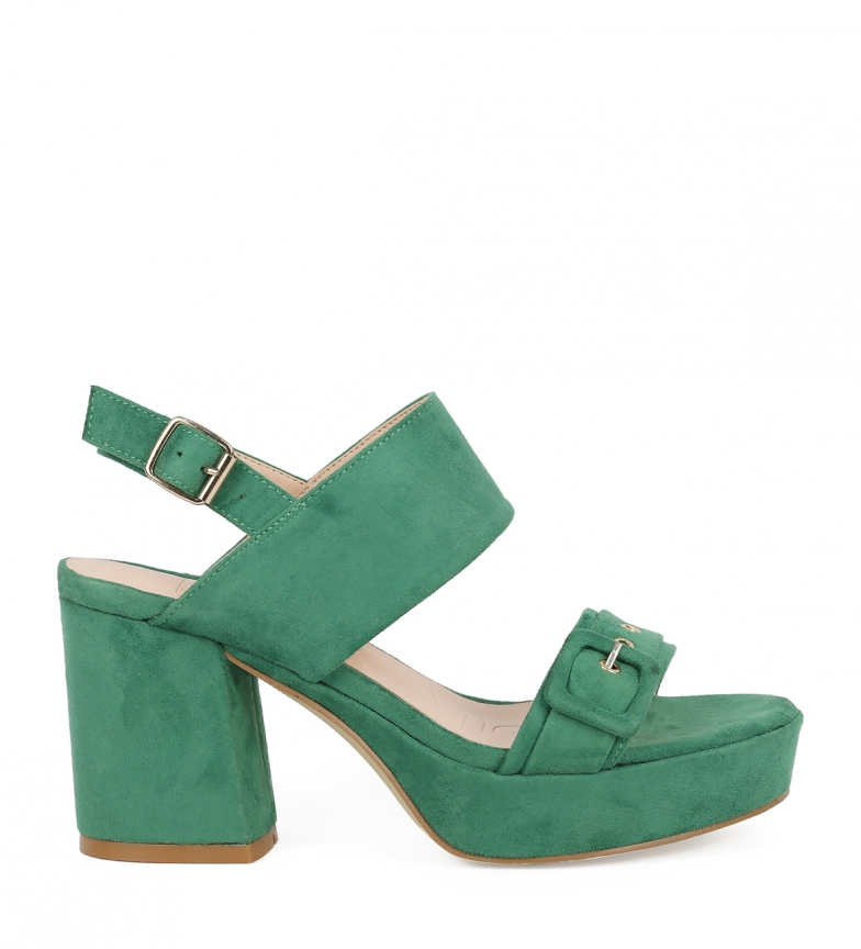 Comprar Chika10 Sandals Frida 04 green -High heel: 9cm