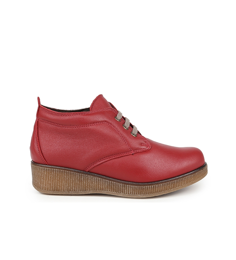Comprar Chika10 Comfort 02 wine leather ankle boots
