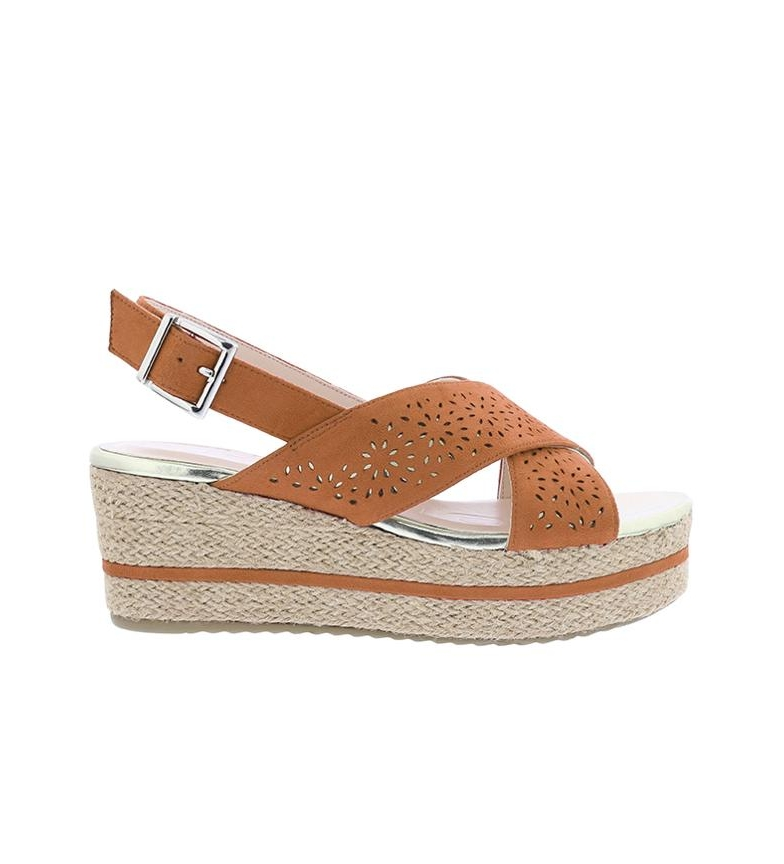 Comprar Chika10 Sandals Dona 07 leather - Wedge height: 7cm