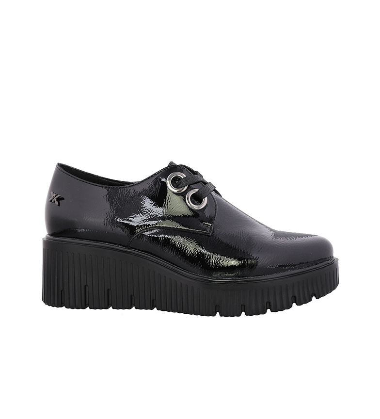 Comprar Chika10 Chaussures en cuir Fibi 01 noir - hauteur de la cale : 5,5 cm