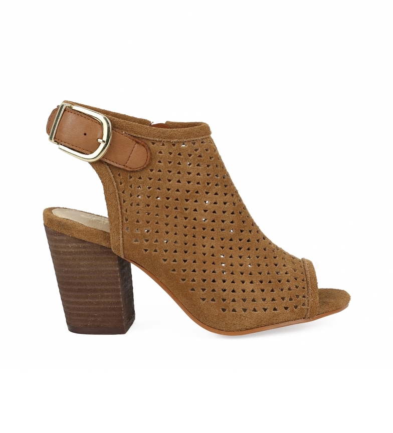 Comprar Chika10 Leather sandals Giorgia 05 leather -Heel height: 9cm