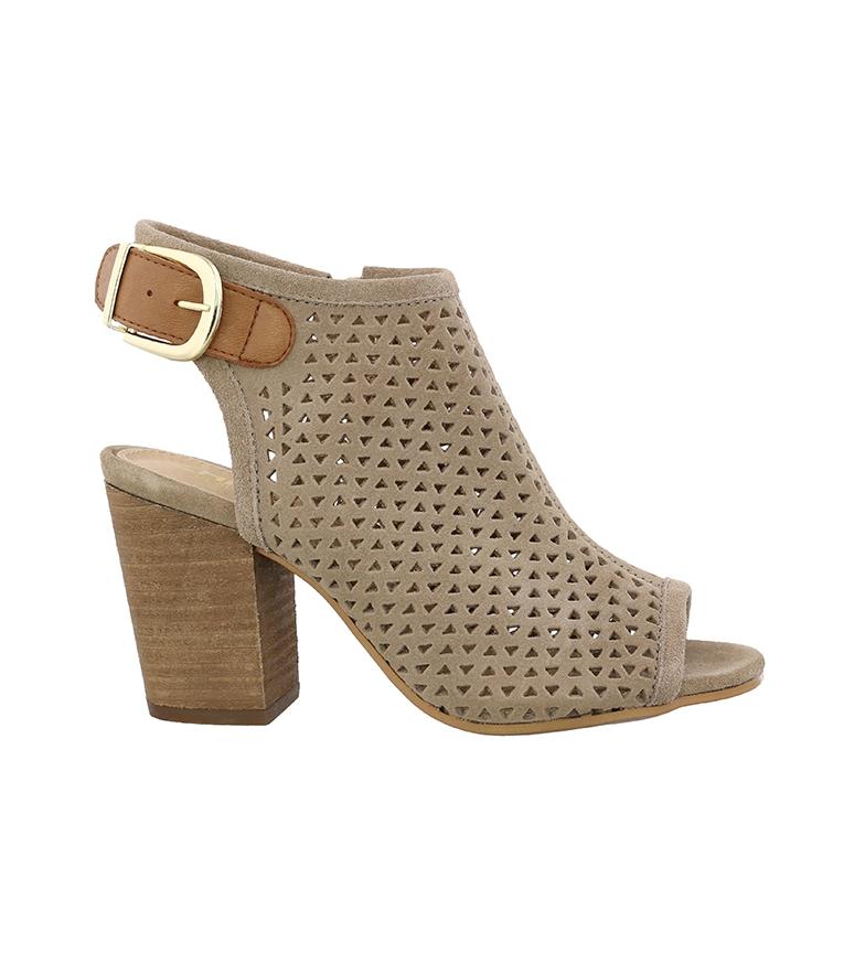Comprar Chika10 Sandalias de piel Giorgia 05 piedra