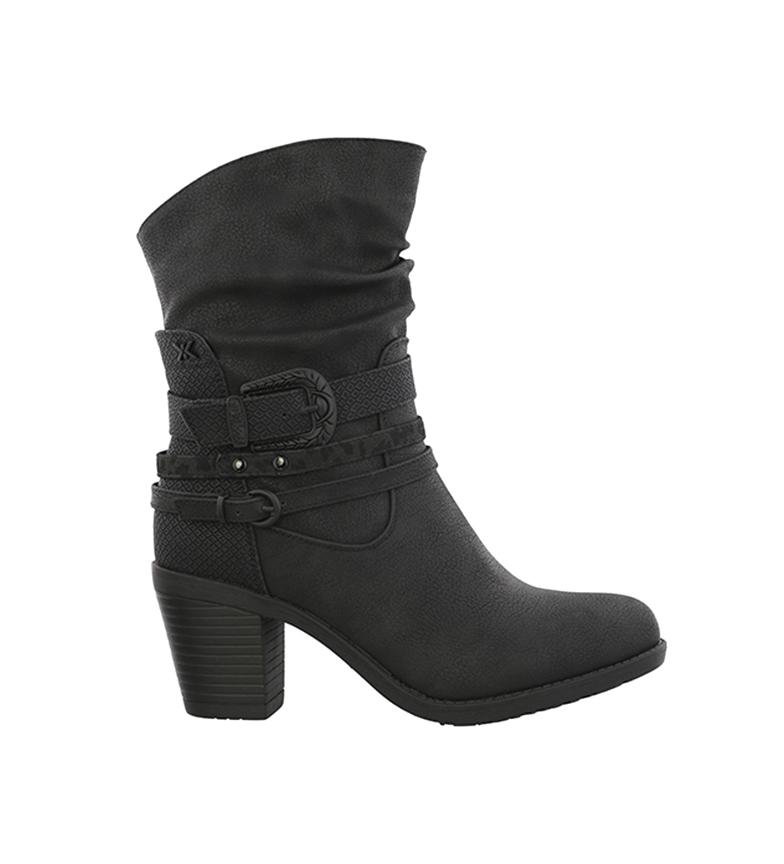 Comprar Chika10 Kurazo Boots 19 preto -Altura do calcanhar: 7 cm