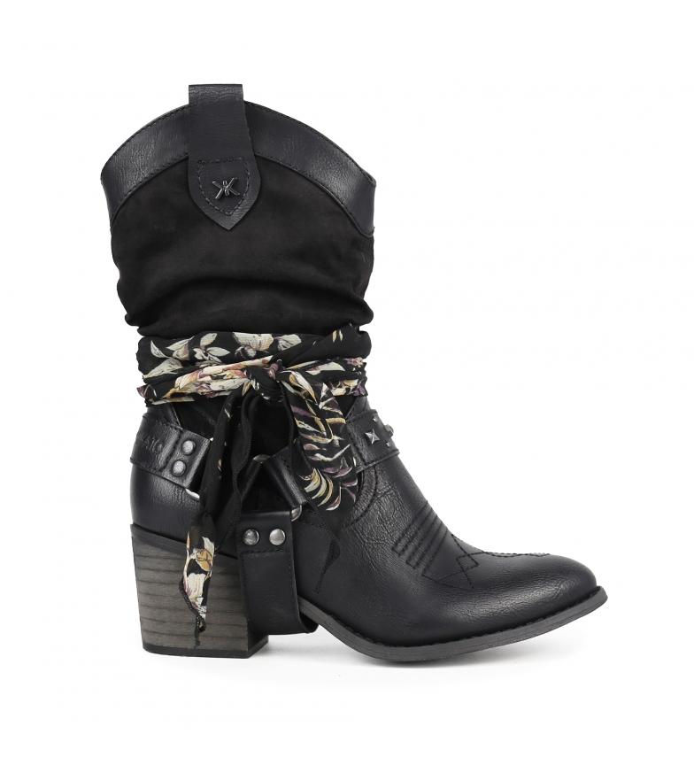 Comprar Chika10 Lily 12 bottes noires - Hauteur du talon : 7 cm