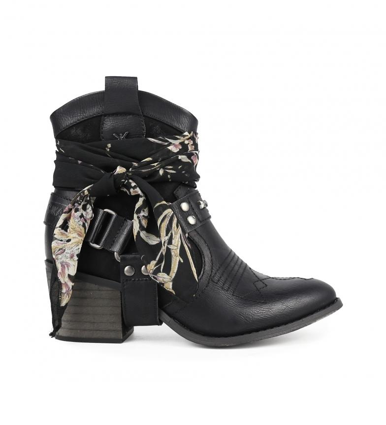 Comprar Chika10 Lily 11 botas de tornozelo preto -Altura do calcanhar: 7 cm