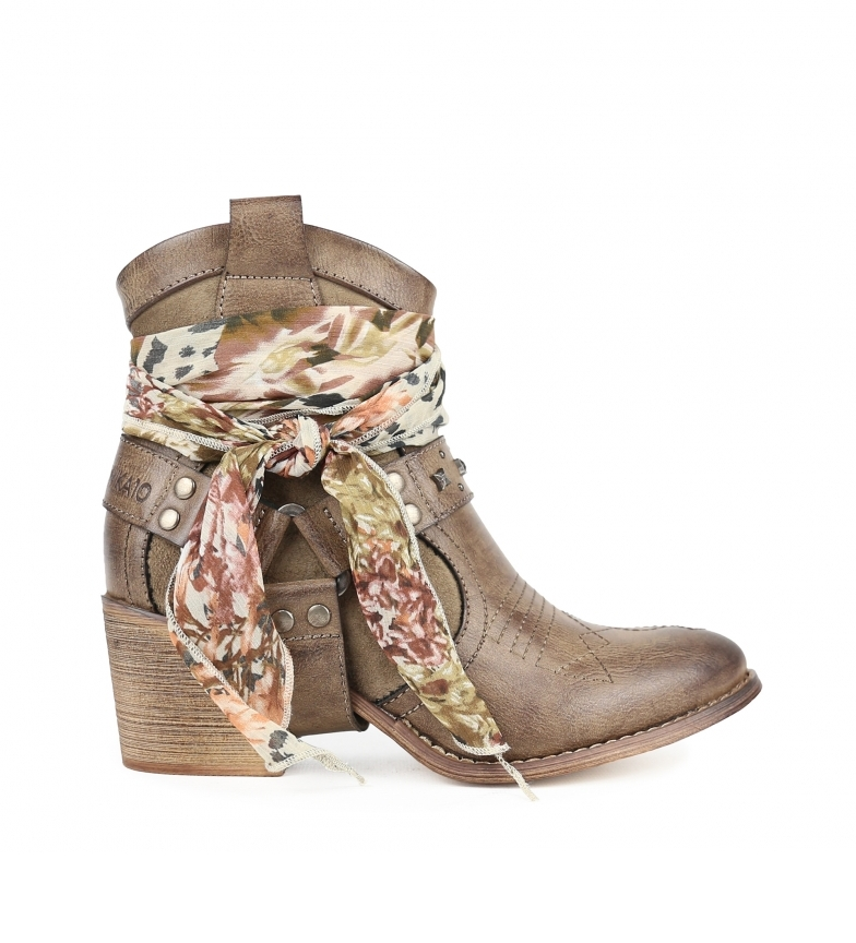 Comprar Chika10 Lily 11 taupe ankle boots -Heel height: 7 cm