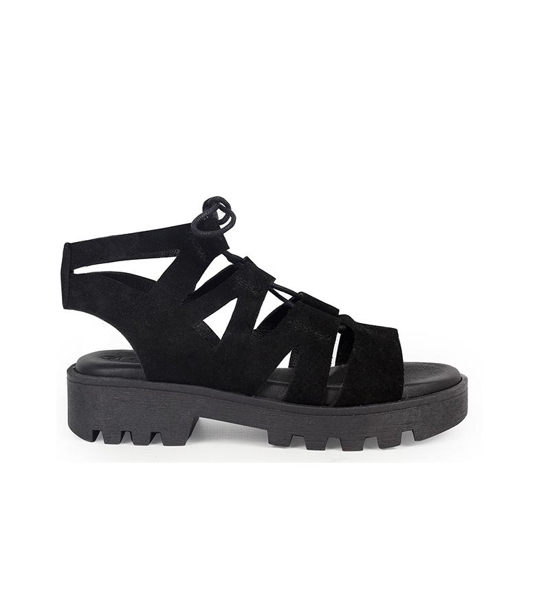 Comprar Chika10 Sandali in pelle Marion 01 nero