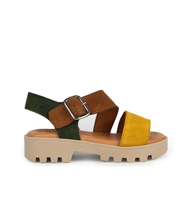 Comprar Chika10 Sandali in pelle Marion 02 multicolore