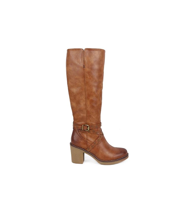 Comprar Chika10 Marlen Boot 07 couro - Altura do calcanhar: 8cm