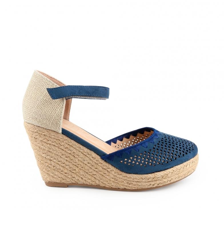 Chika10 Nadia 15 sandali marini - altezza cuneo: 8cm