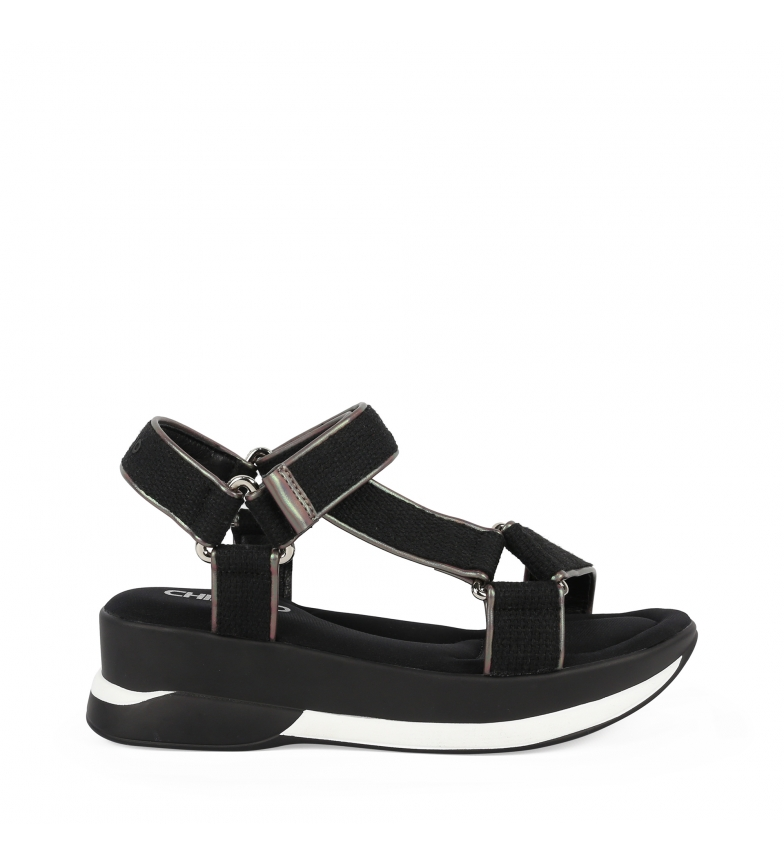 Comprar Chika10 Sandales New Agora 12 noires - Hauteur de la plate-forme : 5cm