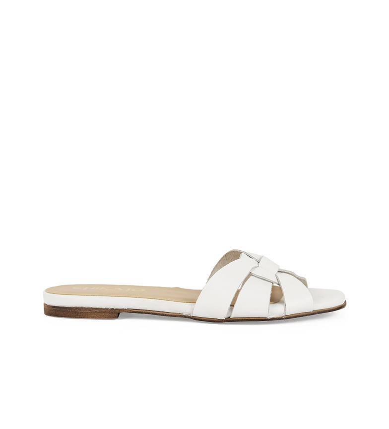 Comprar Chika10 Oasis 01 leather sandals white