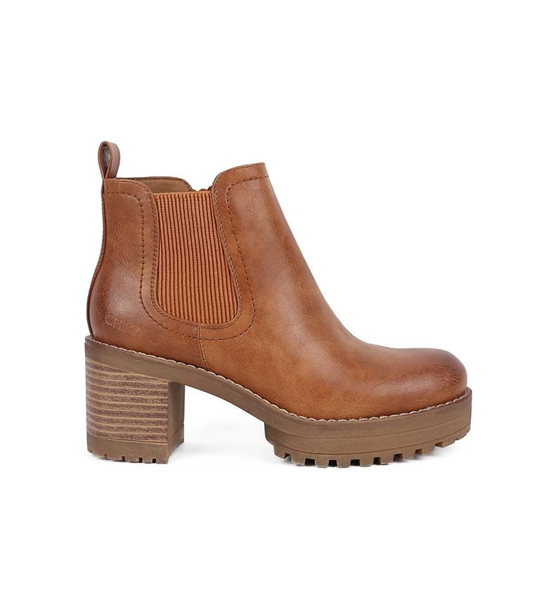 Comprar Chika10 Pilar Boot 05 leather -Heel height: 7.5cm