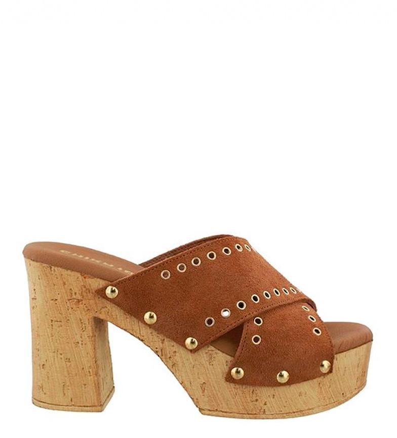 Comprar Chika10 Leather sandals Johana 02 leather