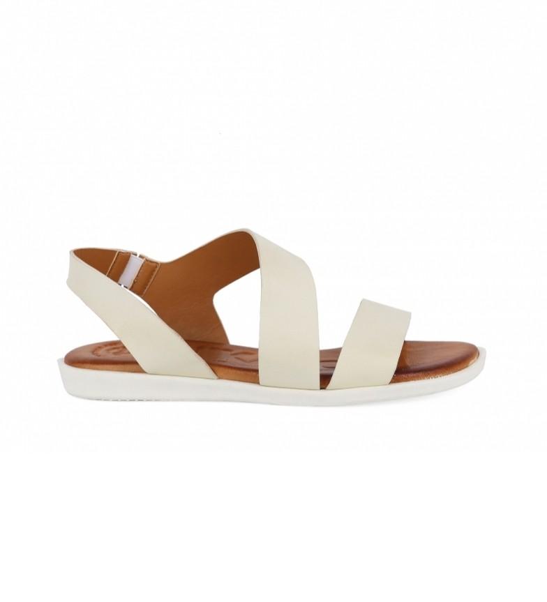 Comprar Chika10 Sandali in pelle Talara 02 bianco