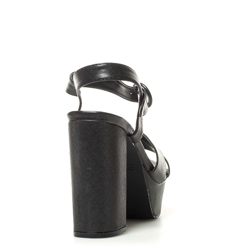Taylor 01 12cm Chika10 Sandalias Altura tacón metal negro New HqzEwaxC