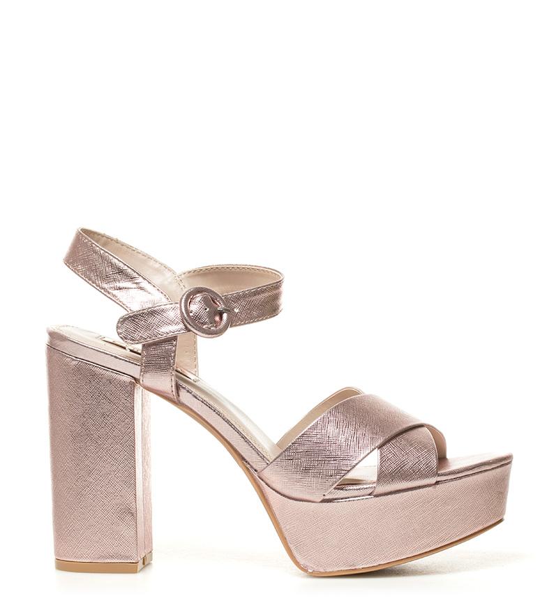 12cm Taylor Sandalias Chika10 New Altura rosa tacón metal 01 q8xR1wz