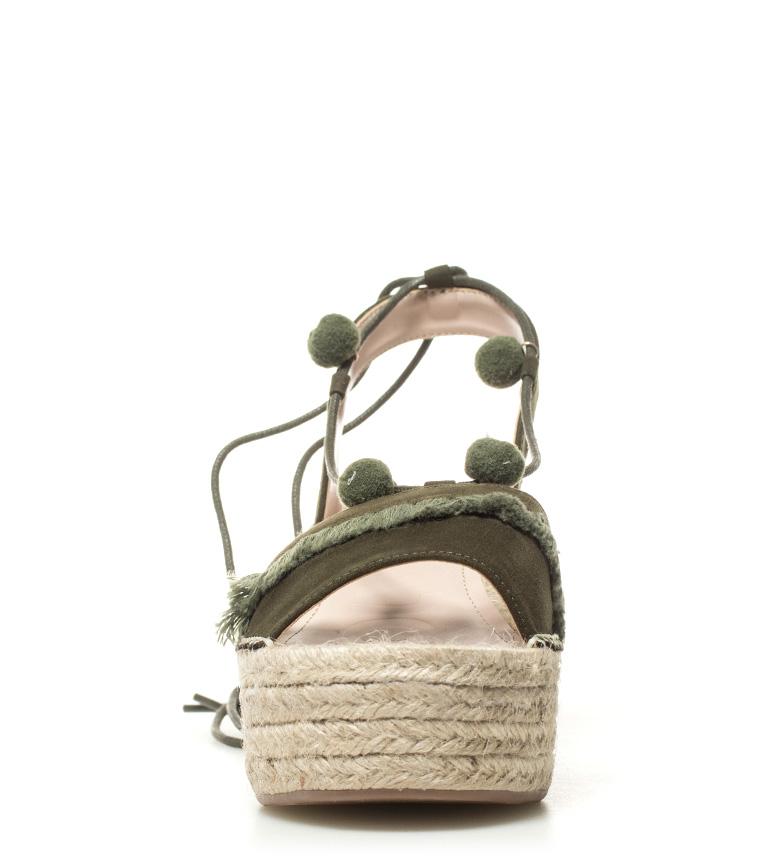 cuña 7cm 01 Sandalias Altura kaki Valeria Chika10 AXOpZqy