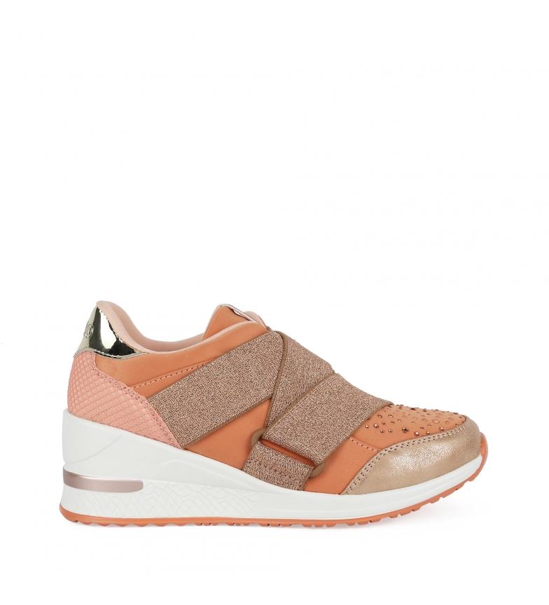 Comprar Chika10 Zapatillas Selena 06 coral -altura suela + cuña: 6cm-
