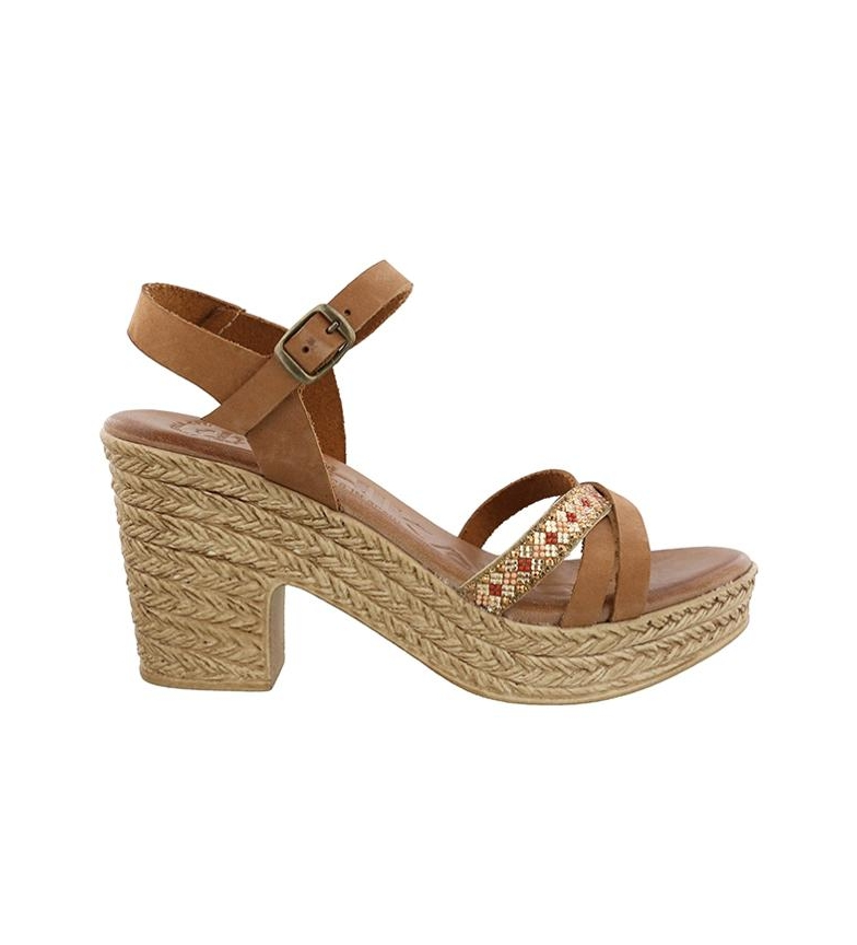 Comprar Chika10 Leather sandals Shadow 01 leather -Heel height: 9cm