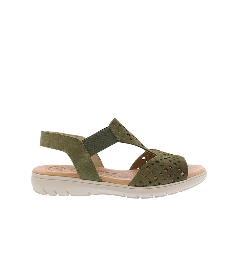 Comprar Chika10 Leather sandals Thailand 03 persimmon
