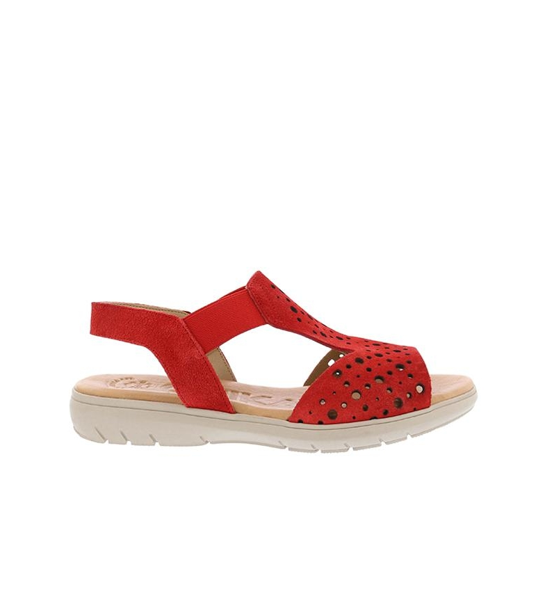 Comprar Chika10 Leather sandals Thailand 03 red