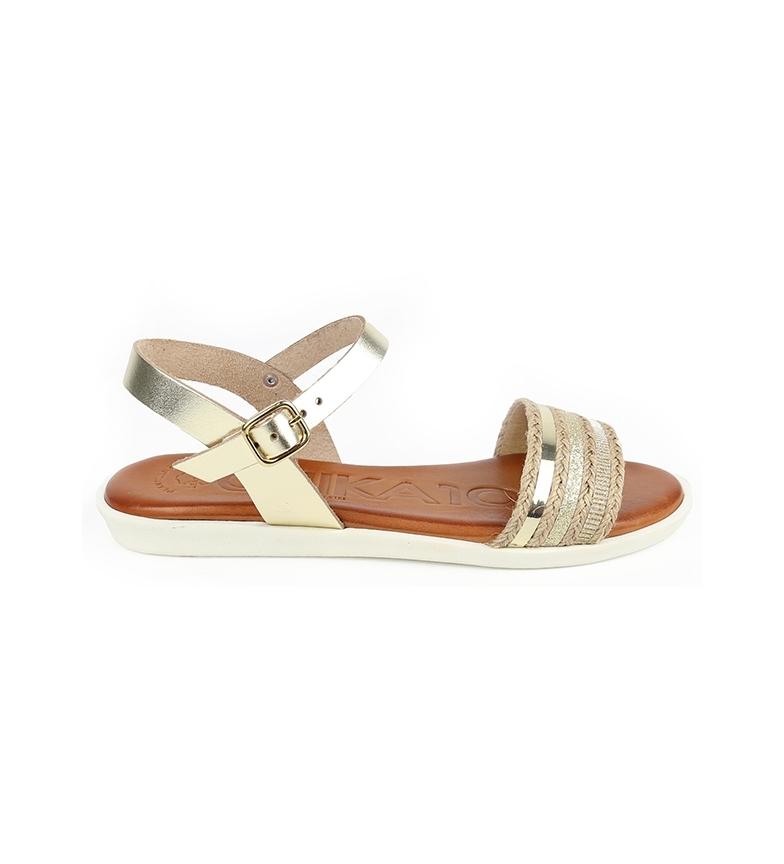 Comprar Chika10 Talara 03 sandali in pelle naturale