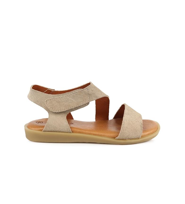 Comprar Chika10 Talarita 05 sandálias de couro de pedra