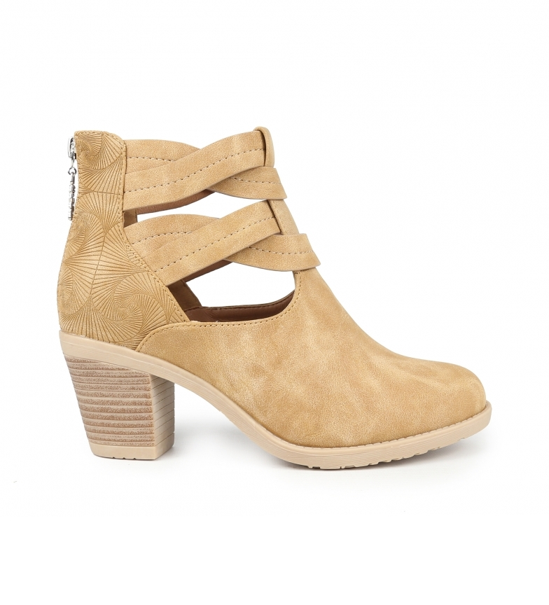 Comprar Chika10 Ankle boots Tonia 09 leather -Heel height: 7 cm
