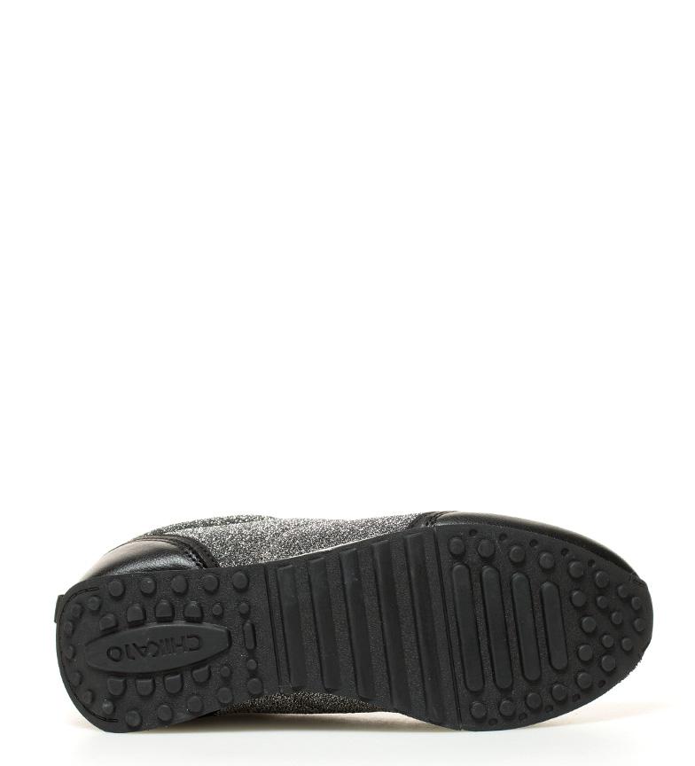 03 plata Chika10 negro Chika10 Zapatillas Zapatillas Agnes Agnes wcXW8F4qx