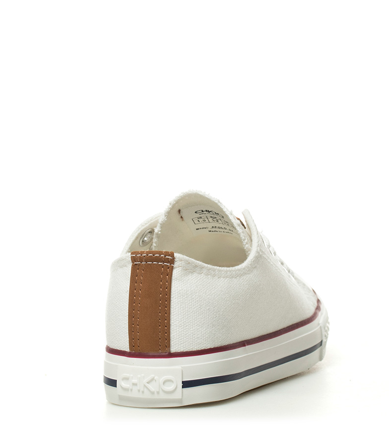 Chiko10 Boys Zapatillas Apolo 01 blanco